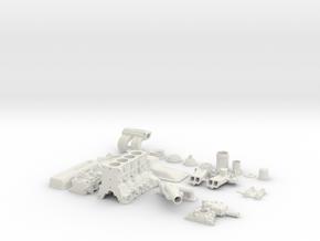 Scale 22RE in White Natural Versatile Plastic