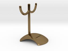 Key frame penholder in Polished Bronze