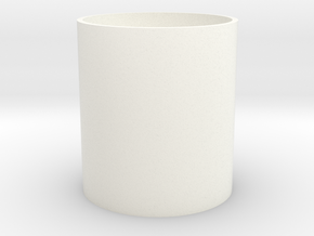 Number of ladder-type cup in White Strong & Flexible Polished