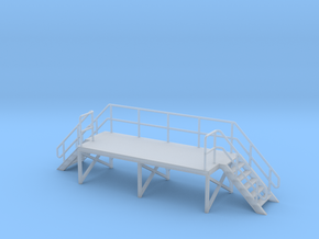 HO Train Crew Platform in Smooth Fine Detail Plastic