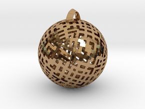 Tetra Ball in Polished Brass