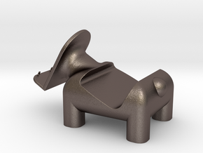動物 手機架  Animal mobile phone holder in Polished Bronzed Silver Steel