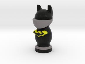 Catan Robber Knight Blk Ylw Batman in Full Color Sandstone