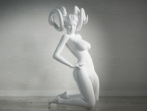 Evil Girl-005-Scale 1/24 in Smoothest Fine Detail Plastic