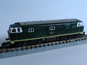 "Class 35 ""Hymek""  Z 1:220 in Smooth Fine Detail Plastic"