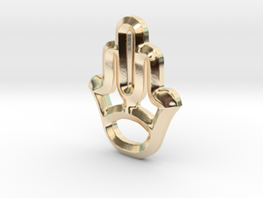Symbol in 14k Gold Plated Brass