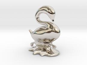 Swan in Platinum