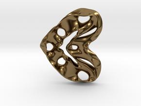 LoveHeart RoyalModel in Polished Bronze
