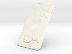 Phone Case IPhone6 Plus  in White Strong & Flexible Polished