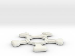 Amm-testa in White Strong & Flexible