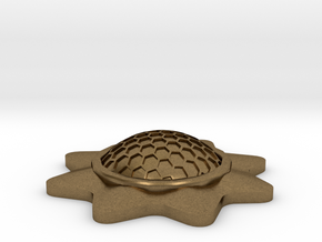 Stackable Shield Token for X-Wing Miniatures in Natural Bronze