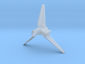 Imperial Lambda Shuttle - Wings Extended  in Smooth Fine Detail Plastic