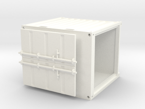 10ftcontainer in White Processed Versatile Plastic