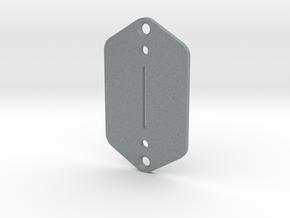 Jaguar Plate - Tele/Strat switch in Polished Metallic Plastic