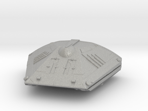 Sidewinder Ship from Elite:dangerous in Raw Aluminum
