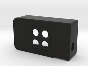 UECUL-T-06-2P-2ICM in Black Natural Versatile Plastic