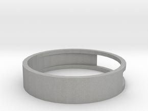 Open ring in Aluminum