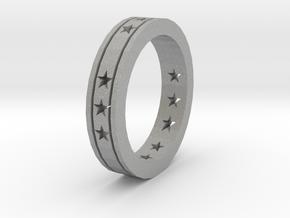 Ring Star open in Aluminum