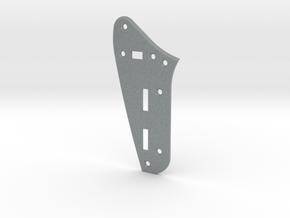 Jaguar Rhythm Circuit Plate - Standard Beveled  in Polished Metallic Plastic