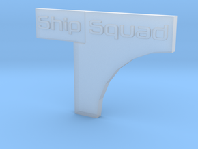 Star Wars Armada Placement Marker in Smooth Fine Detail Plastic