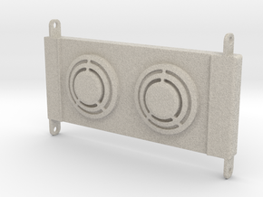 Axial RR10 Bomber Radiator in Natural Sandstone