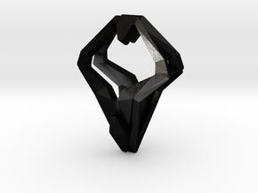 HEAD TO HEAD Unic, Pendant in Matte Black Steel