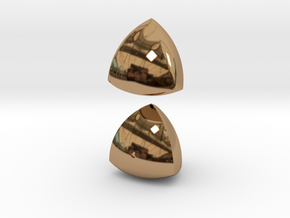 Meissner Tetrahedra in Polished Brass