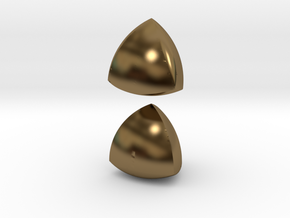 Meissner Tetrahedra in Polished Bronze