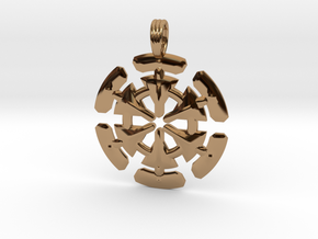 MOUNTAIN STAR in Polished Brass