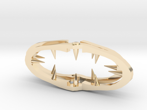 Lain's Hair Clip in 14k Gold Plated Brass