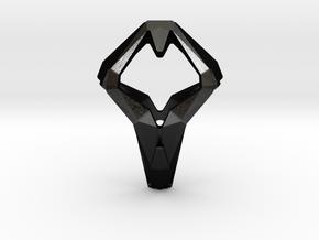 HEAD TO HEAD Unic S, Pendant in Matte Black Steel