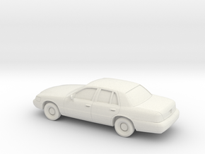 1/87 1997-02 Mercury Grand Marquis in White Natural Versatile Plastic
