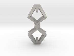 HEAD TO HEAD Duo, Pendant  in Aluminum