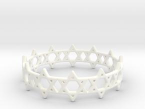 David Bracelet 65 in White Processed Versatile Plastic