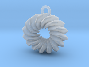 Old Fashioned Donut in Smoothest Fine Detail Plastic