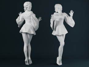 Skirt Girl-001 scale 1/24 in Frosted Ultra Detail