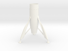 Disney Moonliner Fin Unit for BT60 in White Processed Versatile Plastic