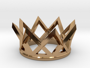 Watch The Crown in Polished Brass
