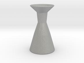 Neck vase in Aluminum