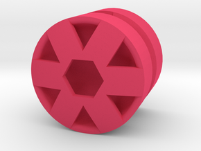 HEX_1814RS - LEGO-Compatible Custom Rims in Pink Strong & Flexible Polished