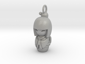 Japanese Doll in Aluminum