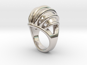 Ring New Way 16 - Italian Size 16 in Platinum