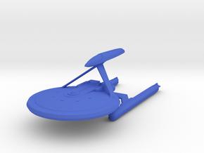 1/2500 Hutzel C - Survey Cruiser (solid nacelles) in Blue Processed Versatile Plastic
