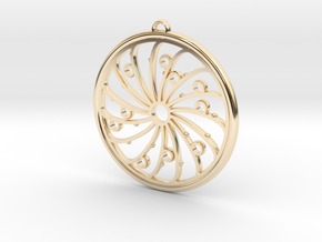 C 200 in 14k Gold Plated Brass