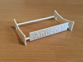 Anticosti, Display Stand (1:200) in White Processed Versatile Plastic