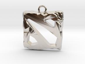 DOTA 2 Emblem in Platinum
