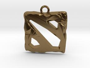 DOTA 2 Emblem in Polished Bronze