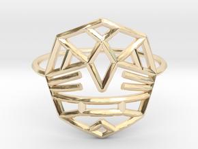 Fearless Warrior Ring (Medium) in 14K Yellow Gold