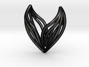 sWINGS S, Pendant in Matte Black Steel