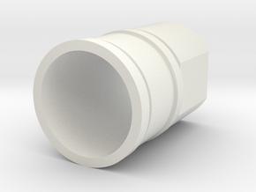 Ahsoka Tano Lightsaber - Blade holder in White Natural Versatile Plastic